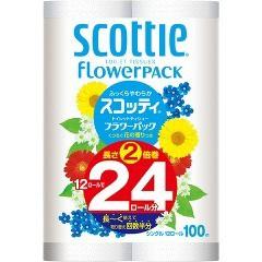 スコッティ フラワーパック 2倍巻き シングル(12...