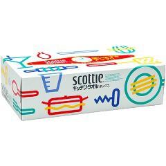 スコッティ キッチンタオル ボックス(150枚(75組)...