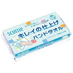 スコッティ キレイの仕上げ ハンドタオル(100組)[...