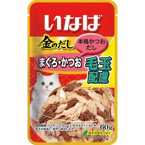 金のだし 毛玉配慮 まぐろ・かつお(60g)(発送可能...