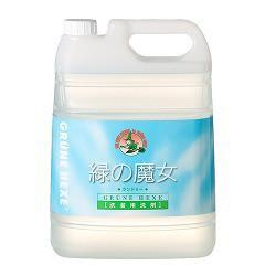 緑の魔女 ランドリー 業務用(5L)(発送可能時期:1週間-10日(通常))[洗濯洗剤(液体)]
