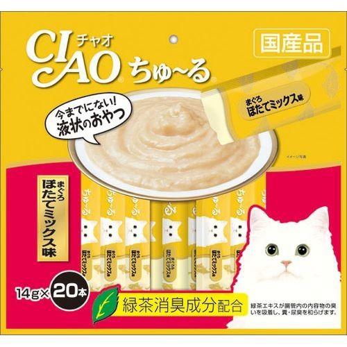 チャオ ちゅ〜る まぐろ ほたてミックス味(14g*20...