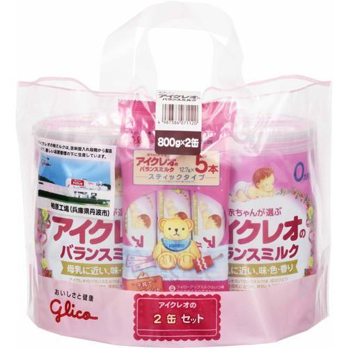 アイクレオのバランスミルク(800g*2缶セット)(発...