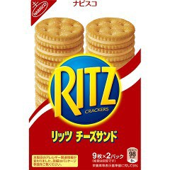 リッツ チーズサンド(160g)[お菓子 その他]