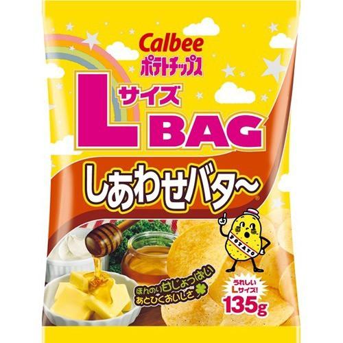 カルビー ポテトチップス しあわせバタ〜 Lサイズ...