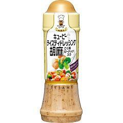 キユーピー テイスティドレッシング 胡麻 こく味(ピーナッツ入り)(210ml)[ドレッシング]