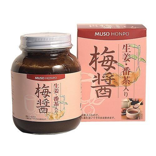 ムソー食品工業 生姜・番茶入り梅醤(250g)[梅肉]