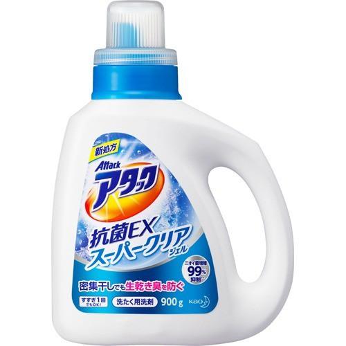 アタック 抗菌EX スーパークリアジェル 洗濯洗剤 ...
