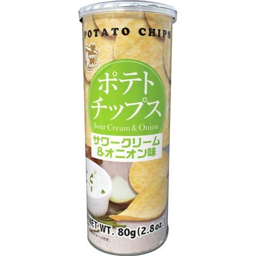 ポテトチップス サワークリーム&オニオン味(80g)...