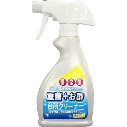 重曹+お酢 台所クリーナー 本体(400mL)[キッチン用 液体洗浄剤]