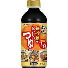 無砂糖でおいしいつゆ(500ml)[つゆ]