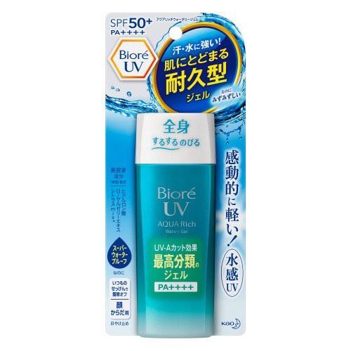 ビオレ UVアクアリッチウォータリージェル(90mL)[UV 日焼け止め SPF50〜]