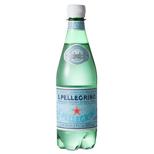 サンペレグリノ ペットボトル 炭酸水 正規輸入品(500ml*24本入)[海外ミネラルウォーター]