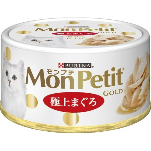モンプチ ゴールド 缶 極上まぐろ(70g)(発送可能...