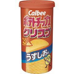 ポテトチップス クリスプ うすしお味(50g)(発送可...