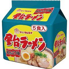 屋台ラーメン 九州味 袋(5食入)[袋麺]