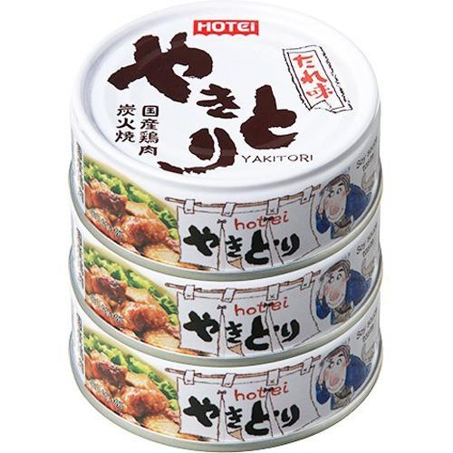 ホテイフーズ やきとり缶詰 国産鶏肉使用 やきと...