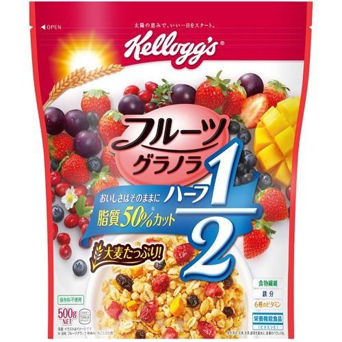 ケロッグ フルーツグラノラ ハーフ 徳用袋(500g)(...