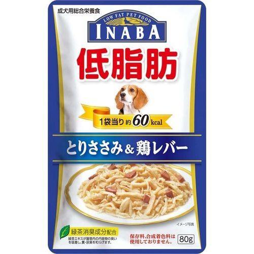 いなば 低脂肪 とりささみ&鶏レバー(80g)(発送可...