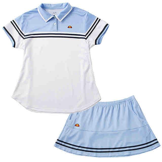 レディース TEAMポロシャツ&スカート上下セット(...