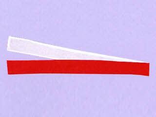 三和商会 紅白ハチマキ S-1