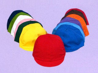 三和商会 園児用カラー帽子(裏白) S-14