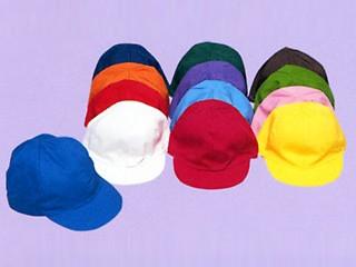 三和商会 小学生用カラー帽子(裏白) S-16