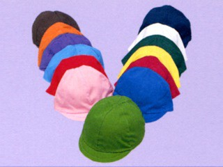 三和商会 園児用カラー帽子(裏白) S-24