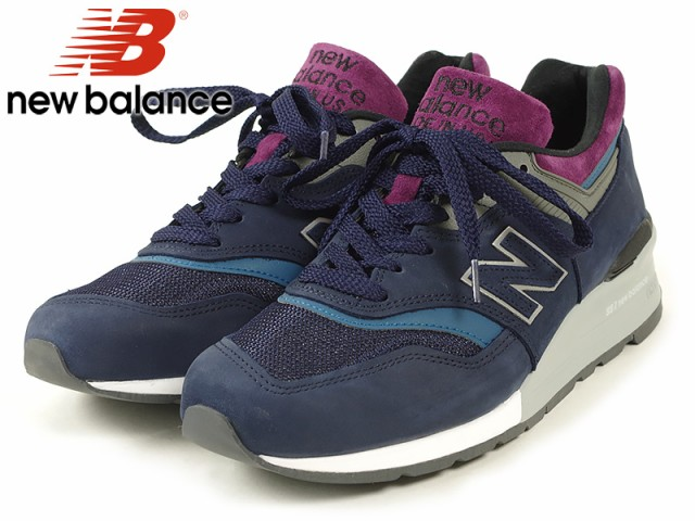 ニューバランス new balance M997PTB ネイビー/グ...