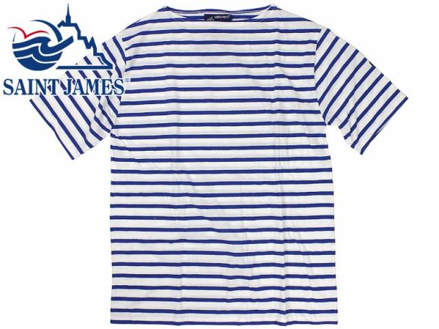 セントジェームス SAINT JAMES 半袖Tシャツ ボー...