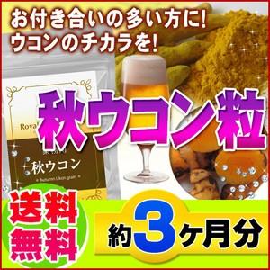 【業務用 秋ウコン粒 450粒】[メール便対応商品...