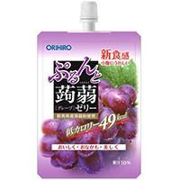 【オリヒロ ぷるんと蒟蒻ゼリー グレープ 130g】...