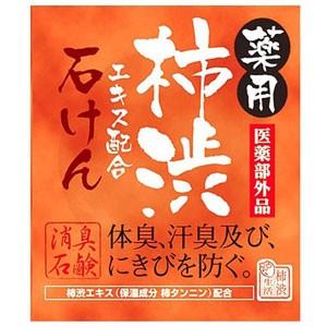 【薬用 柿渋エキス配合石けん 100g  医薬部外品...