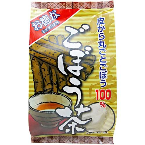 【ユウキ製薬 ごぼう茶 徳用 3g×52包】