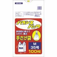 【バランスパック 手提げポリ袋M(35号) 100枚 BPH...