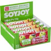 【SOYJOY(ソイジョイ) 2種のアップル 30g*12本入...