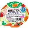 【キユーピーベビーデザート 野菜ミックスのフル...