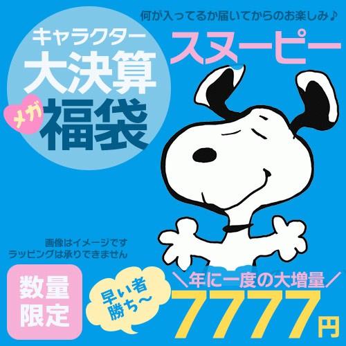 送料無料 スヌーピー 決算福袋 大決算 キャラクタ...