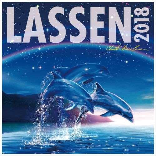 【取寄品】 ラッセン 2018 カレンダー 60×30cm平...