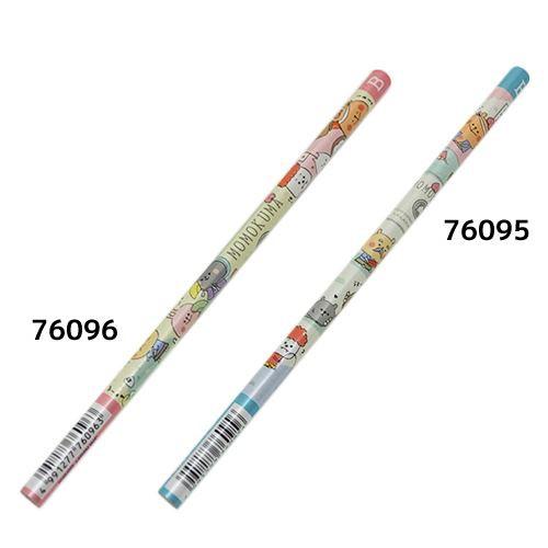 MOMOKUMA ももくまさん 鉛筆 丸軸えんぴつ B かわ...