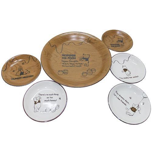 くまの プーさん 食器ギフトセット パーティープレートセット(6枚組) スローカフェ ディズニー キャラクターグッズ通販