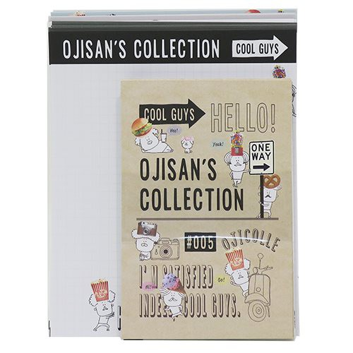 OJISAN'S COLLECTION オジコレ レターセット ト...