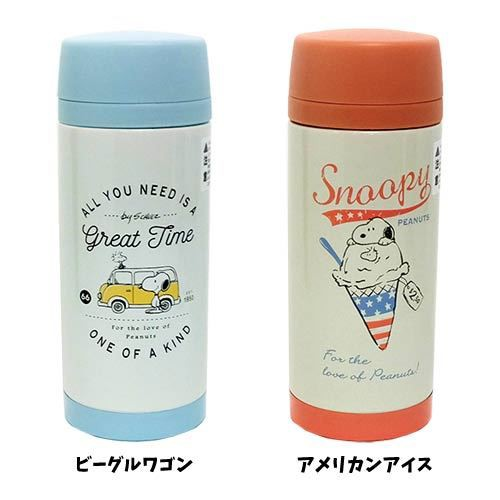 【クーポン】スヌーピー 保温 保冷 水筒 直飲み ...