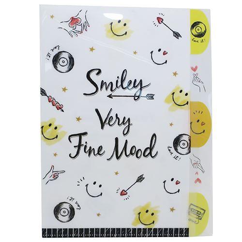 SMILEY スマイリーフェイス ファイル ダイカット ...