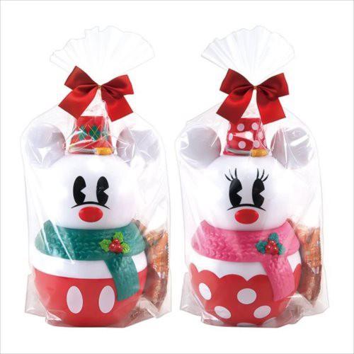 ミッキー&ミニー クリスマスお菓子 スノーマンバ...