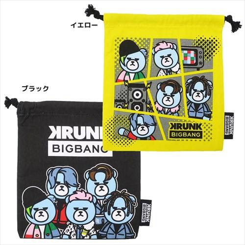 KRUNK × BIGBANG 巾着袋 きんちゃく ポーチ FXXK...