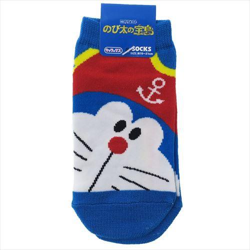 映画ドラえもん のび太の宝島 子供用靴下 ジュニ...
