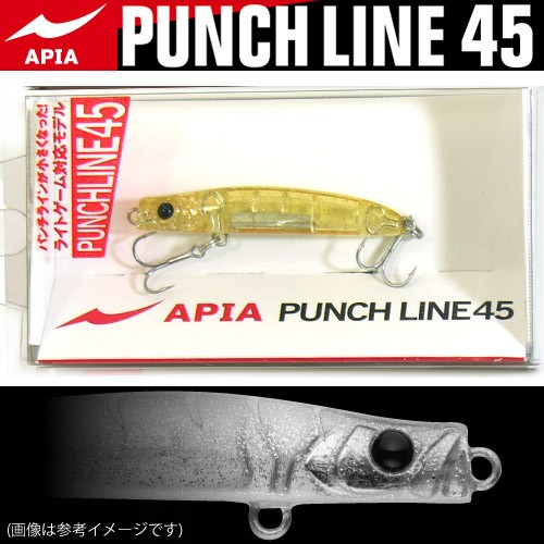 【在庫限定10%OFF】アピア パンチライン 45 (谷...