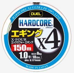 ●デュエル DUEL ハードコアX4エギング 150M ミ...