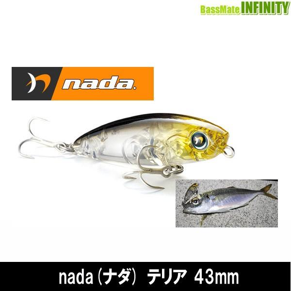 ●メガバス nada(ナダ) テリア 43mm 【メール便...